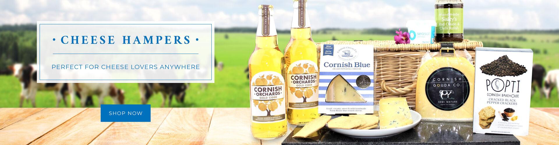 Cornish Cheese Hampers