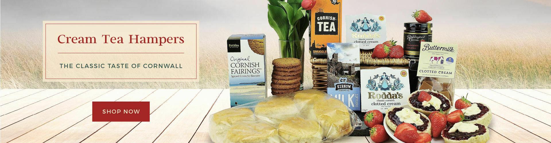 Cornish Cream Tea Hampers