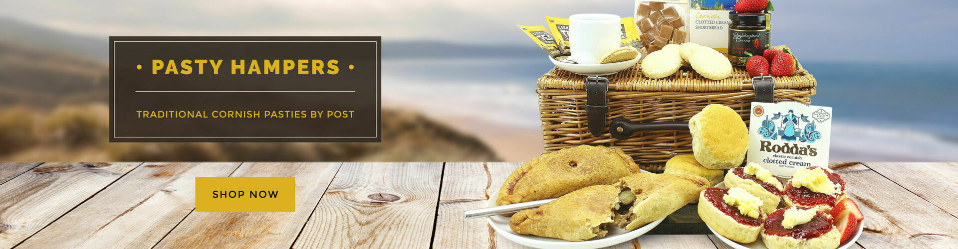 Cornish Pasty Hampers