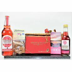 'Lady In Red' Cornish Hamper