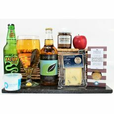 Cornish Cider & Blue Cheese Hamper