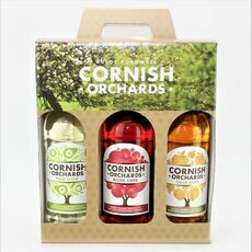 Cornish Orchards Fruity Cider Trio