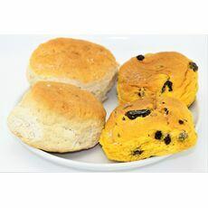 Chapel Bakery Plain Scones & Saffron Buns