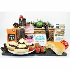 Christmas Cornish Cream Tea Hamper