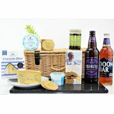 Classic Cornish Cheese & Ale Hamper