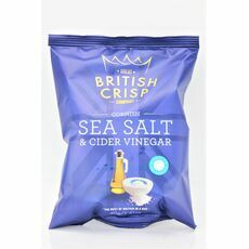Cornish Sea Salt & Cider Vinegar Crisps