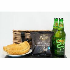 'The Way To A Cornishman's Heart' Pasty Hamper