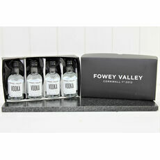 Fowey Valley Miniature Vodka Presentation Box