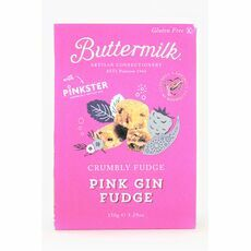 Buttermilk Pink Gin Fudge
