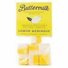Buttermilk Lemon Meringue Fudge