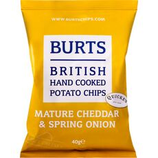 Burts Mature Cheddar & Spring Onion Potato Chips
