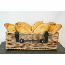 Cornish Premier Medium Steak / Cheese & Onion Pasties (Mixed Box of 12)