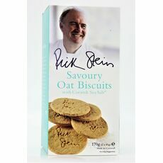 Rick Stein Savoury Oat Biscuits with Sea Salt