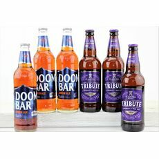 \'Purple & Blue\' Cornish Beer Gift Box