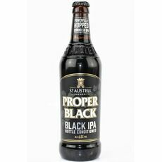 St Austell Brewery Proper Black IPA (ABV 6%)