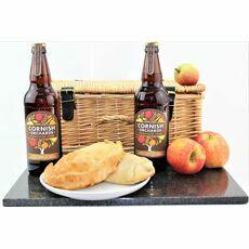 Classic Cornish Gluten Free Pasties & Cider Hamper