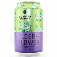 Cornish Orchards Elderflower Can