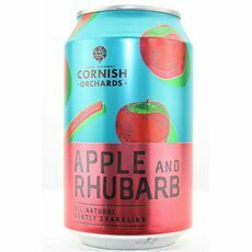Cornish Orchards Apple & Rhubarb Can
