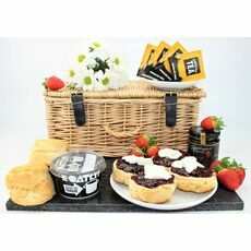 Vegan Cornish Cream Tea Hamper