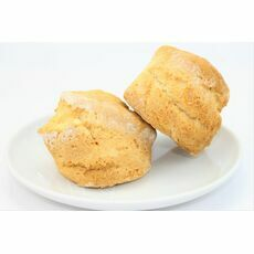 Wheat, Gluten & Dairy Free Plain Scones - suitable for Vegans (Pack of 2)
