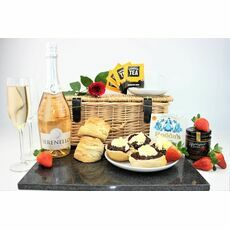 Cornish Afternoon Tea & Prosecco Hamper