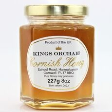 Kings Orchard Clear Black Bee Honey