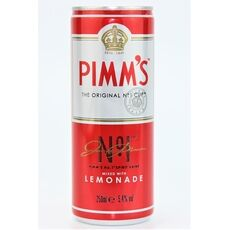 Pimm's No1 & Lemonade (250ml)