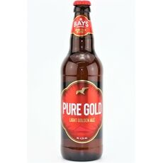 Bays Brewery Pure Gold Light Golden Ale (ABV 4.3%)
