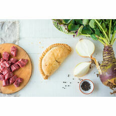 2 x Cornish Premier Medium Steak Pasties