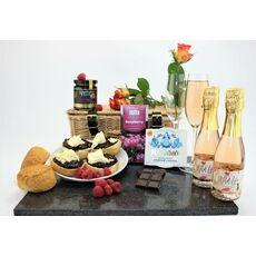 'A Raspberry Romance' Alcohol-Free Cream Tea Hamper