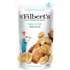 Mr Filbert's Simply Sea Salt Mixed Nuts