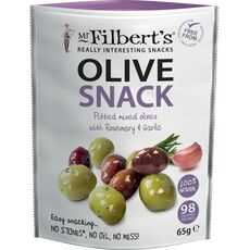 Mr Filbert's Mixed Olives with Rosemary & Garlic
