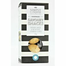 Simply Cornish Savoury Snacks - Cheddar Cheese & Seaweed Flakes