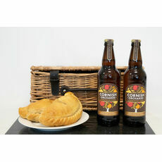 Classic Cornish Cider & Pasty Hamper