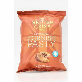 Traditional Cornish Pasty Crisps