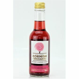 Cornish Orchards Cranberry & Raspberry Sparkle
