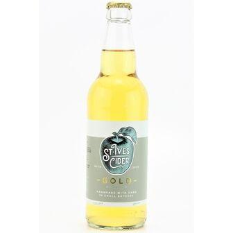 St Ives Gold Cider (ABV 4.5%)