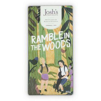 Josh's Chocolate 'Ramble In The Woods' Blueberry & Hazelnut Chocolate