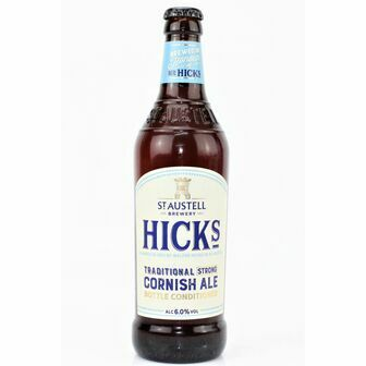 St Austell Brewery Hicks Cornish Ale (ABV 5%)