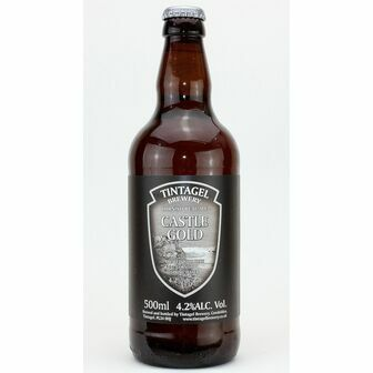 Tintagel Brewery Castle Gold (ABV 4.2%)