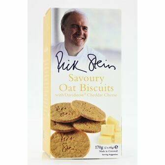 Rick Stein Savoury Oat Biscuits with Davidstow Cheddar Cheese
