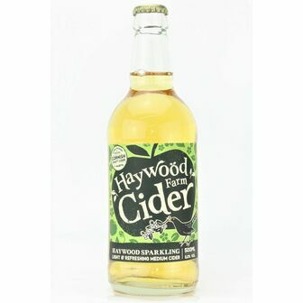 Haywood Farm Sparkling Medium Cider (ABV 5%)