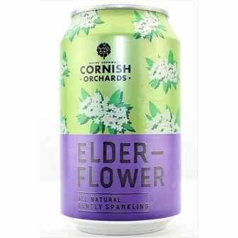 Cornish Orchards Elderflower Can