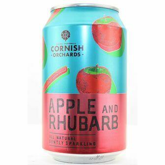 Cornish Orchards Apple & Rhubarb Can