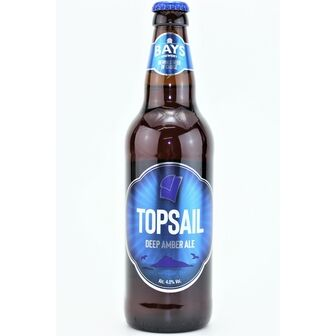 Bays Brewery Topsail Deep Amber Ale (ABV 4.0%)