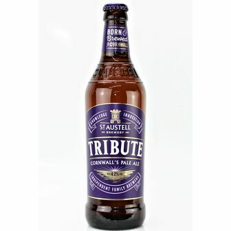 St Austell Brewery Tribute Cornish Pale Ale (ABV 4.2%)