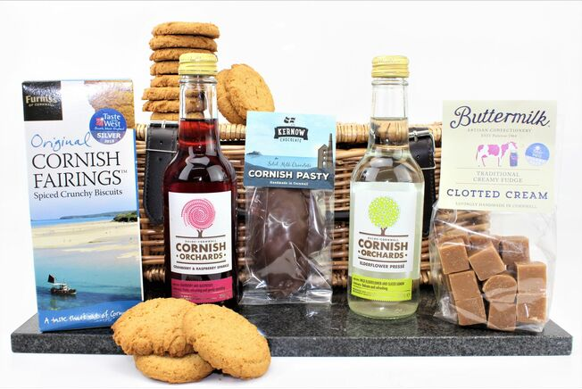 Alcohol Free Sweet Treats Cornish Hamper