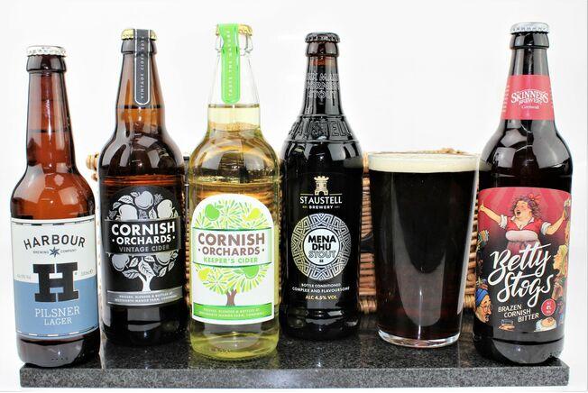 'Birthday For Him' Beer & Cider Hamper