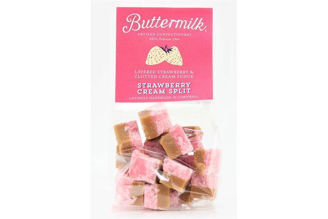 Buttermilk Strawberry & Cream Fudge