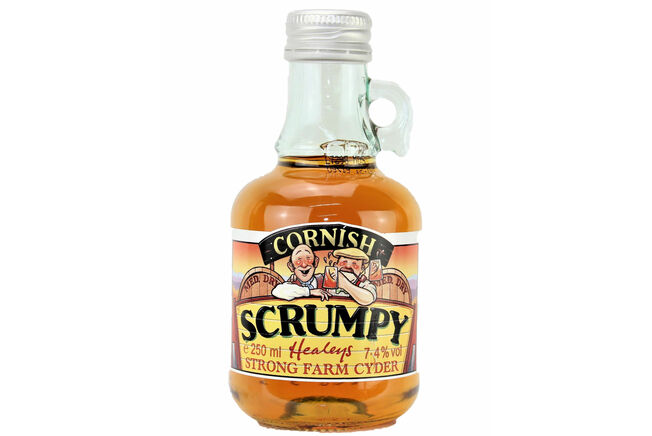 Healey's Medium Dry Scrumpy Cider Flagon
